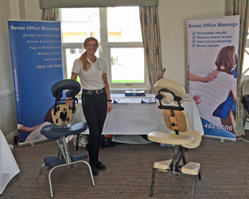 Sense providing office massage in Harrogate