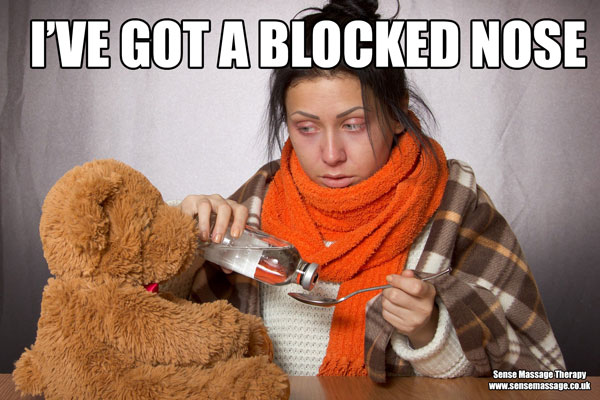 Blocked nose meme