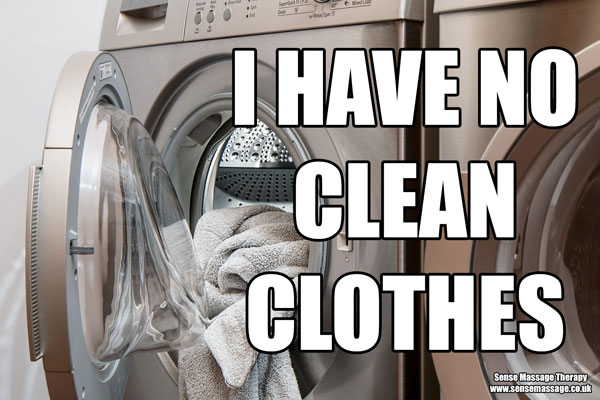 No clean clothes meme