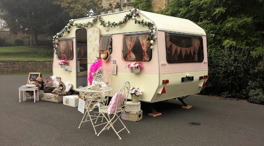 Wedding Activity: Quirky Photo Booths Caravan Photo Booth